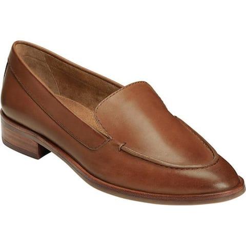 Aerosoles Women's East Side Loafer Dark Tan Leather