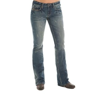 Cowgirl Tuff Western Denim Jeans Womens Wild West Med