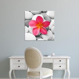 Easy Art Prints PhotoINC Studio's 'Zen Flower' Premium Canvas Art