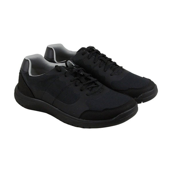 Clarks Votta Edge Mens Black Synthetic Casual Dress Lace Up Oxfords Shoes