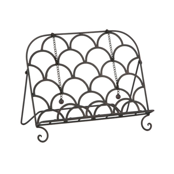 Scalloped Cookbook Stand. Opens flyout.