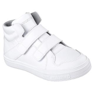 Skechers 91822L WHT Boy's BRIXOR - DAPPER KICKZ Sneaker
