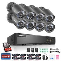 ANNKE 8CH 720P HD Video Security Cameras Surveillance System