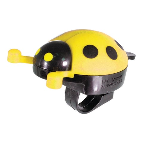 Action lady bug yellow each bell