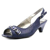 Karen Scott Womens Analese Peep Toe SlingBack Classic Pumps