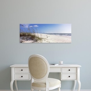 Easy Art Prints Panoramic Images's 'Perdido Key Area, Gulf Islands National Seashore, Pensacola, Florida' Canvas Art