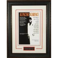 Scarface unsigned 20x28 Masterprint Vintage Poster Leather Framed Al Pacino entertainmentphoto