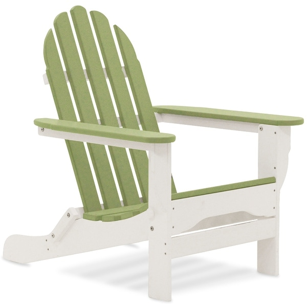 Nelson Recycled Plastic Folding Adirondack Chair by Havenside Home. Opens flyout.