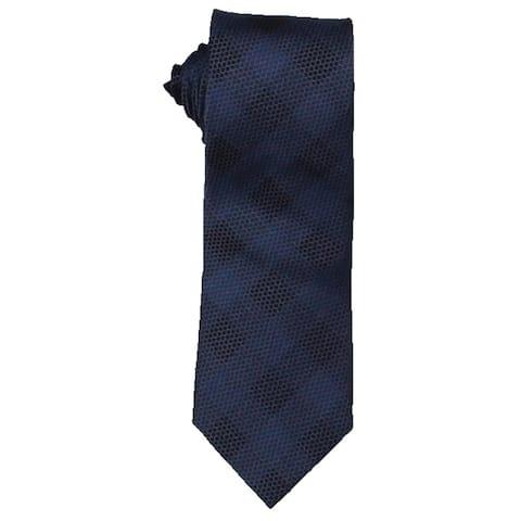 Michael Kors Mens Mesh Construction Neck Tie Silk Business - O/S