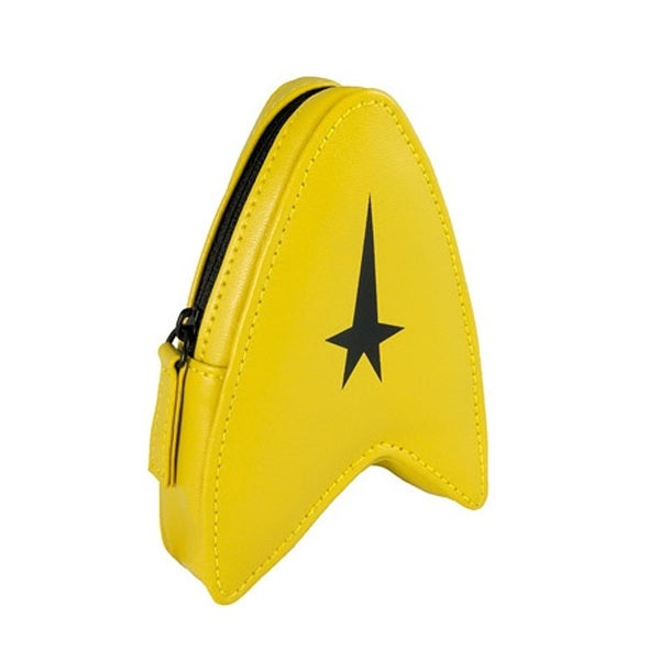 Star Trek The Original Series Coin Pouch Gold Delta - Yellow