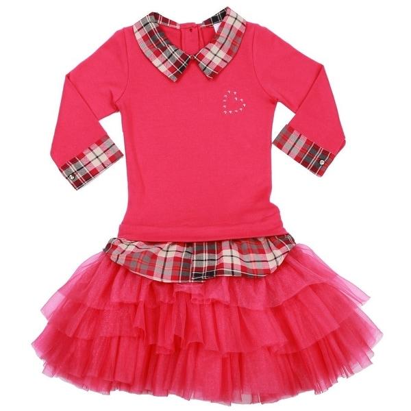 Shop Ooh La La Couture Little Girls Hot Pink Plaid