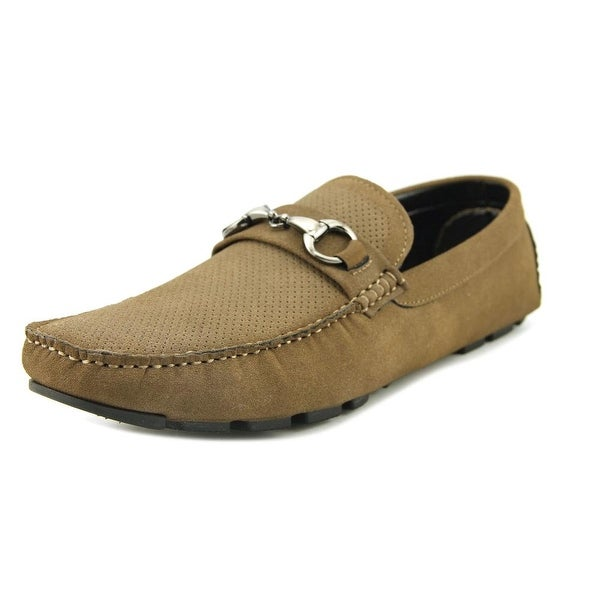 Unlisted Kenneth Cole Hope Lake Women Moc Toe Synthetic Brown Loafer