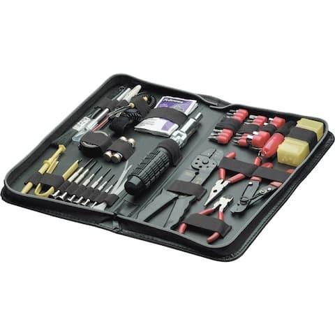 Fellowes 49106 55 piece tool kit black