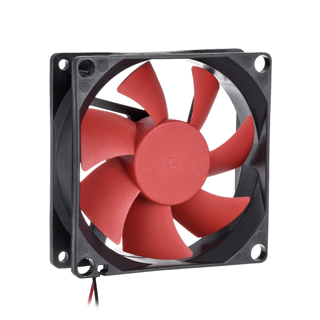 80mm x 25mm Red LED Fan 3 /& 4 pin connector For Intel AMD System