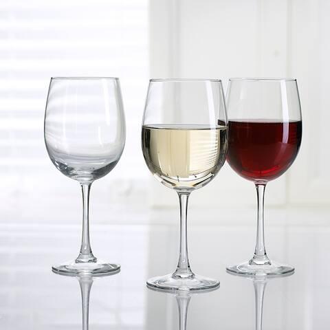 Luminarc 19 Ounce Cachet All Purpose Tulip Wine Glass, Set of 4