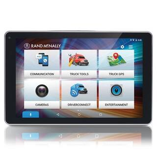 Rand McNally OverDryve 8 Pro 8 Inches Truck GPS Tablet Integrates w/ Built-in Voice Assistant|https://ak1.ostkcdn.com/images/products/is/images/direct/094d8f3dfc0880b876ac075d94d857e9b33a04d0/Rand-McNally-OverDryve-8Pro-OverDryve-Pro-8inch.jpg?impolicy=medium