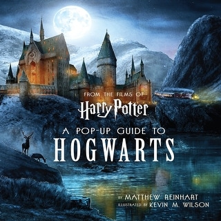 Harry Potter: A Pop-Up Guide to Hogwarts Hardcover Book