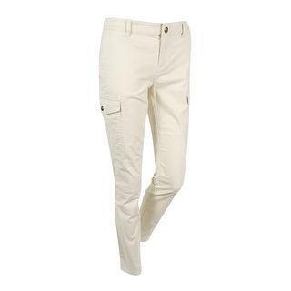 Lauren Ralph Lauren Women's Solid Stretch Pants - 2