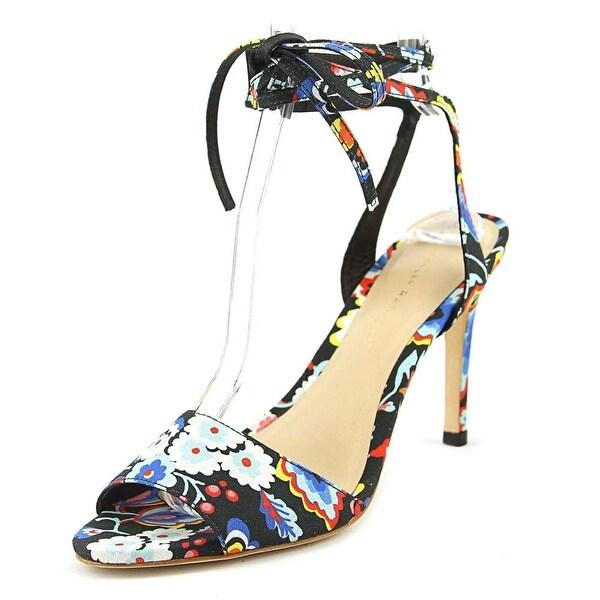 Loeffler Randall Elyse Women Open-Toe Synthetic Multi Color Heels