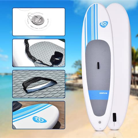 Goplus 10' Inflatable Stand Up Paddle Board SUP w/ Adjustable Paddle