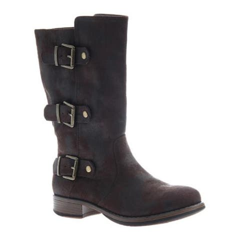 Madeline Women's Roasted Boot Dark Brown Textile