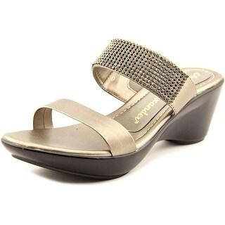 Athena Alexander Finola Open Toe Synthetic Platform Sandal