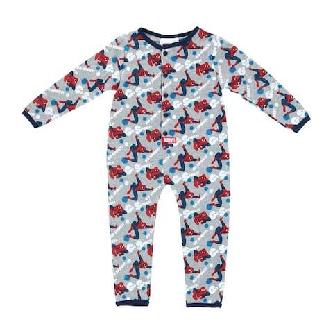 Textiel Trade Marvel Toddler Boy's Footless Spiderman Onesie