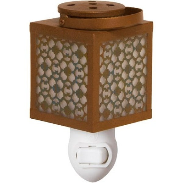 Scentsationals Home Fragrance Sitara Accent Wax Warmer with 15 Watt Light Bulb for Home, Office, Bedroom and Living Room