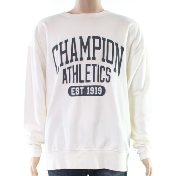 ec7d0e921300 Shop Champion Mens Graphic Print Crewneck Sweater - Free Shipping On Orders  Over  45 - Overstock - 27008125