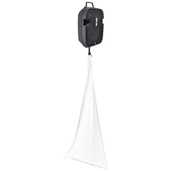Pyle Pro Pscrim3W 3-Sided Dj Speaker/Light Stand Scrim (White)
