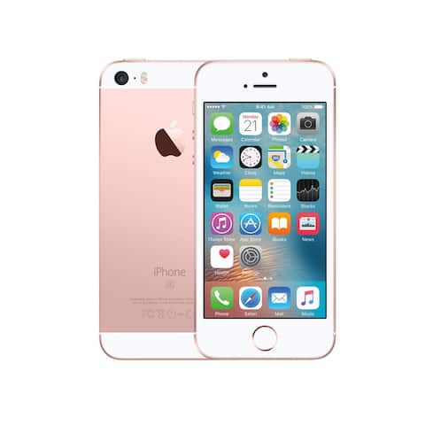 Apple iPhone SE 32GB Rose Gold Fully Unlocked (Refurbished) - Rose Gold