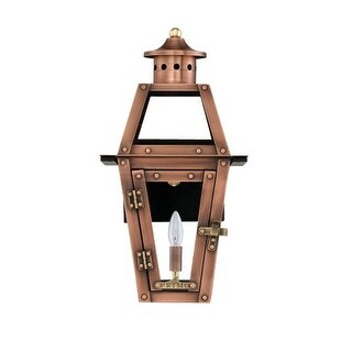 Primo Lanterns OL-15E Orleans 16 1 Light Outdoor Wall-Mounted Lantern in Electric Configuration
