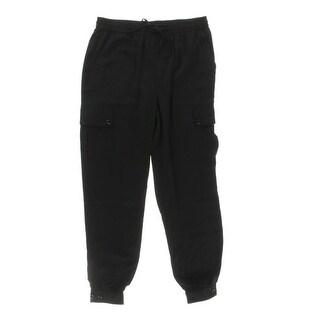 Ralph Lauren Womens Jogger Pants Flat Front Cargo