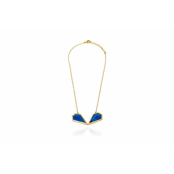 Monte Carlo Necklace in Blue