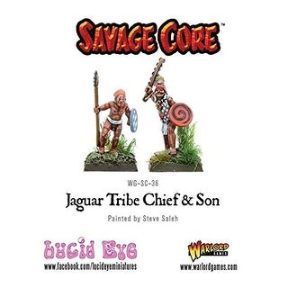 Warlord Savage Core: Jaguar Chief and Son