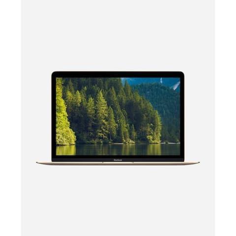 Macbook 12-inch (Retina, Gold) 1.2GHz Core m3 (Mid 2017) 256 GB Hard Drive 8 GB Memory - Gold