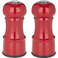 "Salt & Pepper Set 4.5""-Red"