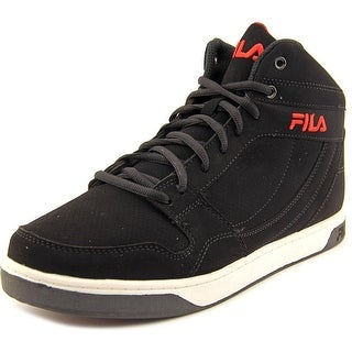 Fila Fairfax Men Round Toe Synthetic Black Sneakers