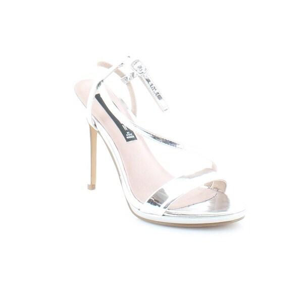a47bca412cb Shop Steven by Steve Madden Rees Women s Heels Silver - 7.5 - Free ...