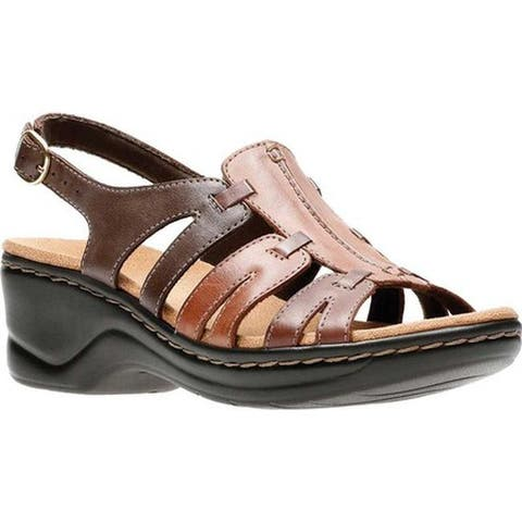 61de0e233 Clarks Women s Lexi Marigold Sandal Brown Multi Leather