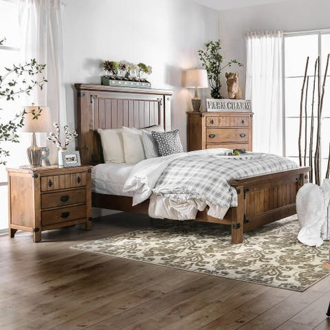 Furniture of America Sierren Country Style Bed