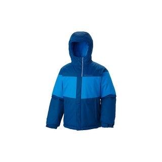 Columbia Boys Alpine Action Winter Jacket for youth- Omni-Heat reflective lining - Black - LARGE