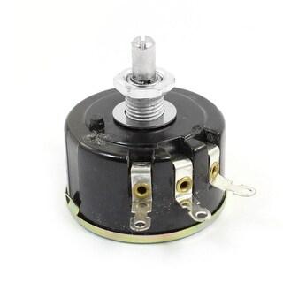 Unique Bargains 6mm Shaft Single Turn Wire Wound Rotary Potentiometer 1K Ohm 5W 5Watt