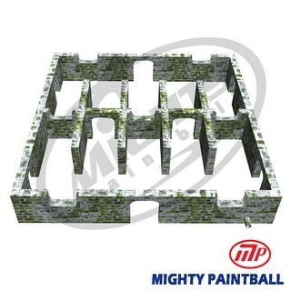 Mighty Paintball - Smart-Field (30'x30'X5'H) Arch design (MP-MA-1021)