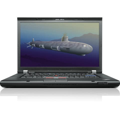 "Lenovo ThinkPad W520 15.6"" Laptop Core i7-2720QM 2.2G 16G RAM 480G SSD DVD NVIDIA Quadro 2G DG Windows 10 Home (Refurbished)"