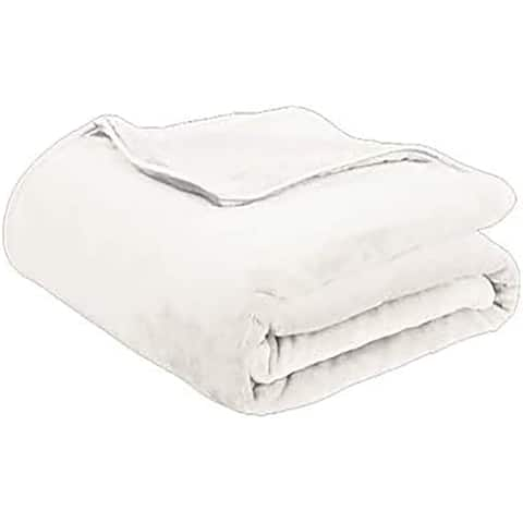 """Soft Plush Weighted Blanket 60"""" x 80"""" 15 Pound with Machine Washable Ultra-Soft Fabric Cover"""