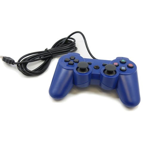 Gaming controller for PlayStation 3-BLUE - Blue