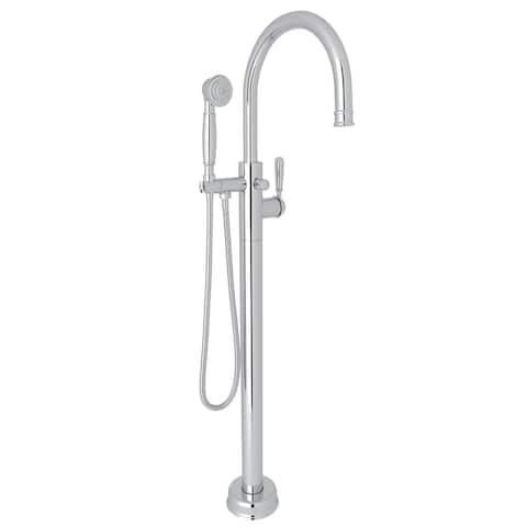 Rohl T1587LM/TO Traditional Single Hole Floor Mounted Tub Filler Trim