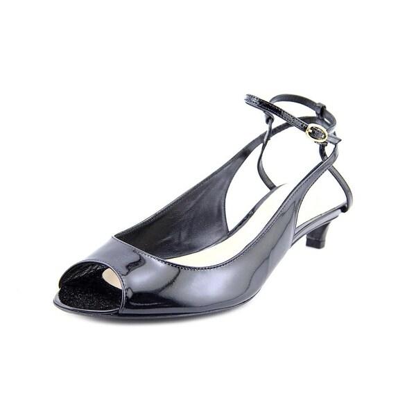 Delman Hope Women  Open Toe Patent Leather  Sandals