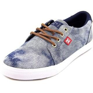 DC Shoes Council TX SE Men Round Toe Canvas Blue Skate Shoe